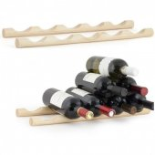 Suport pentru sticle de vin L - Wine Rack Wood Large