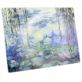 Tocator - Water Lily Glass Cutting Board